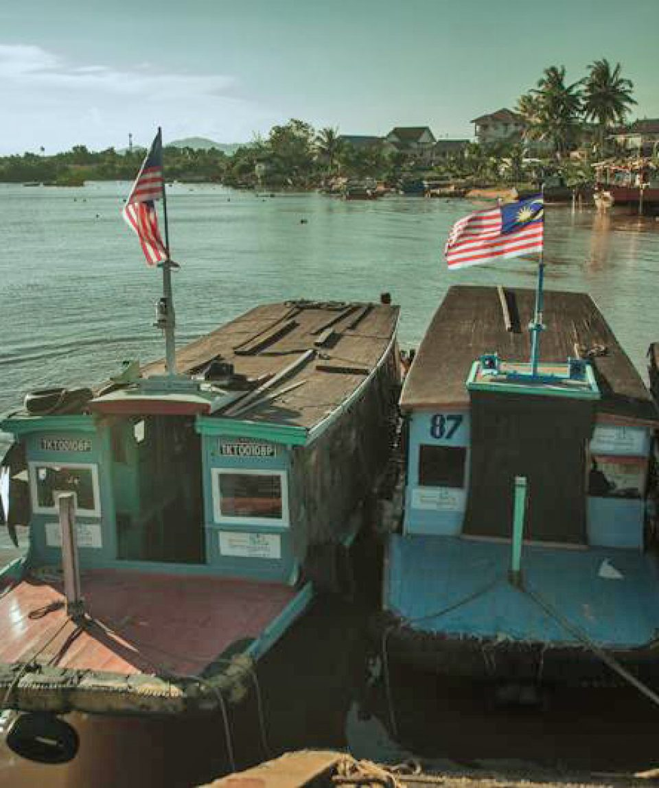 Bot Penambang Seberang Takir - Photo Credit - Amazing Terengganu