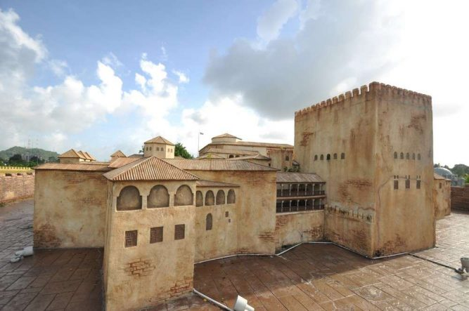 Islamic Civilization Park - The Islamic World's Famous Monuments. Photo Credit - http://beautifulterengganu.com